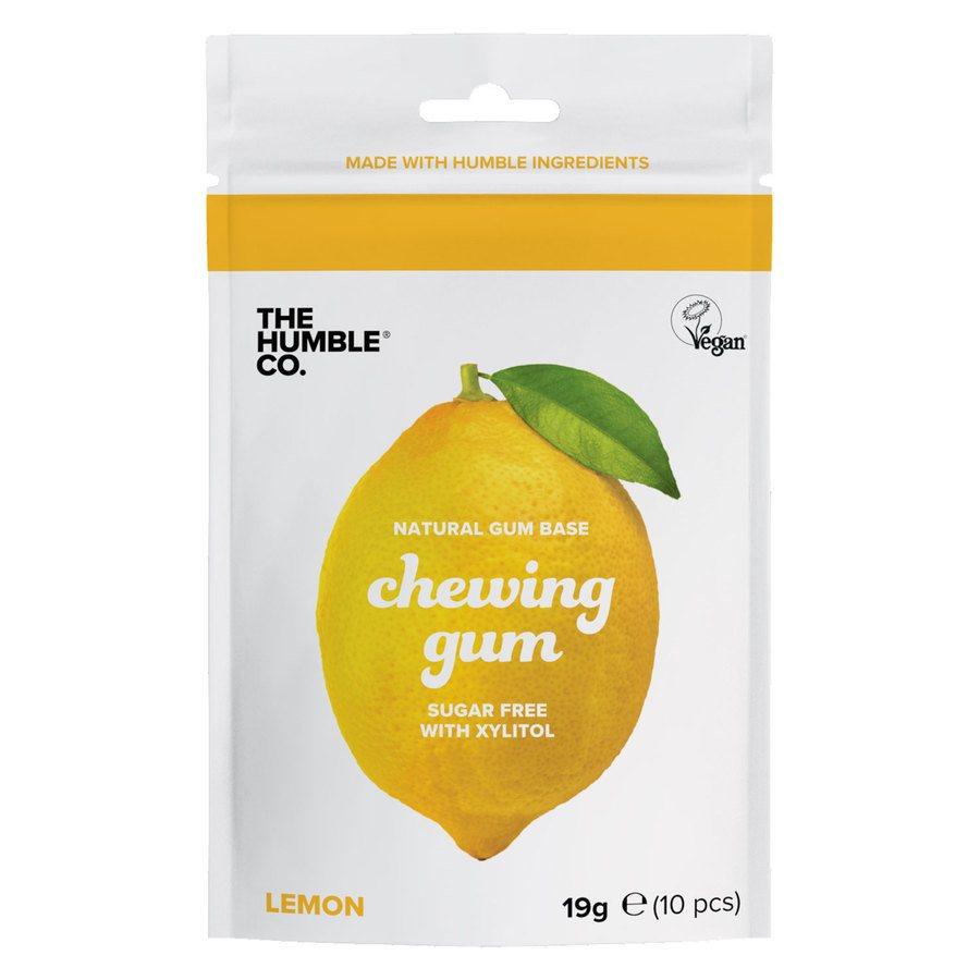 The Humble Co Humble Natural Chewing Gum 10 kpl – Lemon