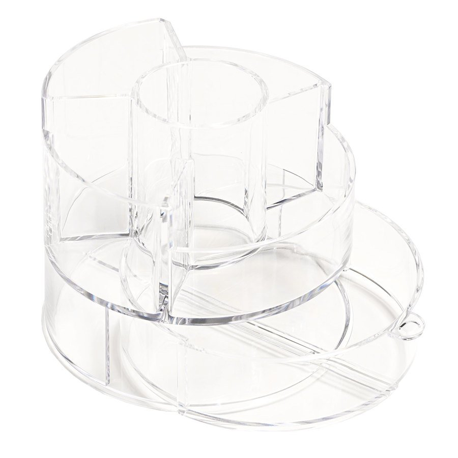 Cosmetic Organizer Cylindrical with Drawer
