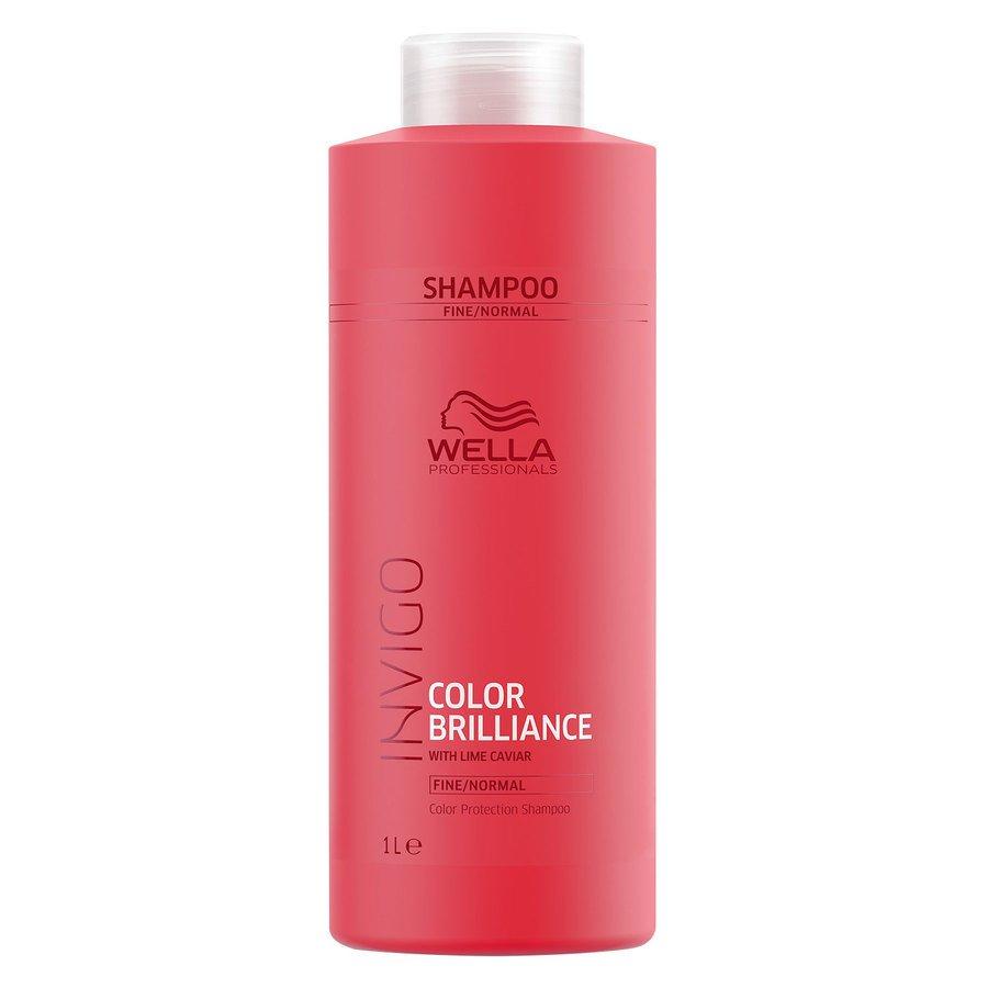 Wella Professionals Invigo Color Brilliance Shampoo Fine Hair 1 000 ml