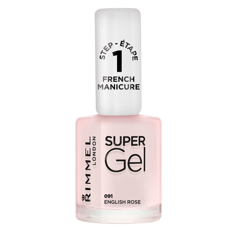 Rimmel London Super Gel Nail Polish 12 ml ─ #091 English Rose