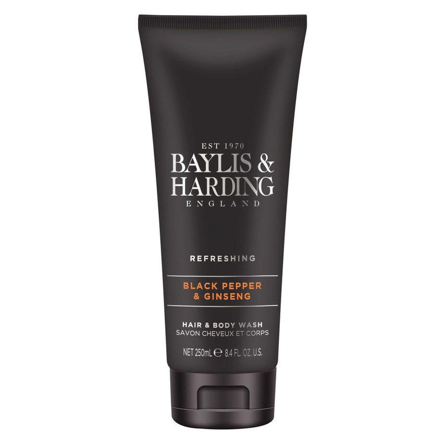 Baylis & Harding Signature Black Pepper & Ginseng Hair & Body Wash 250 ml