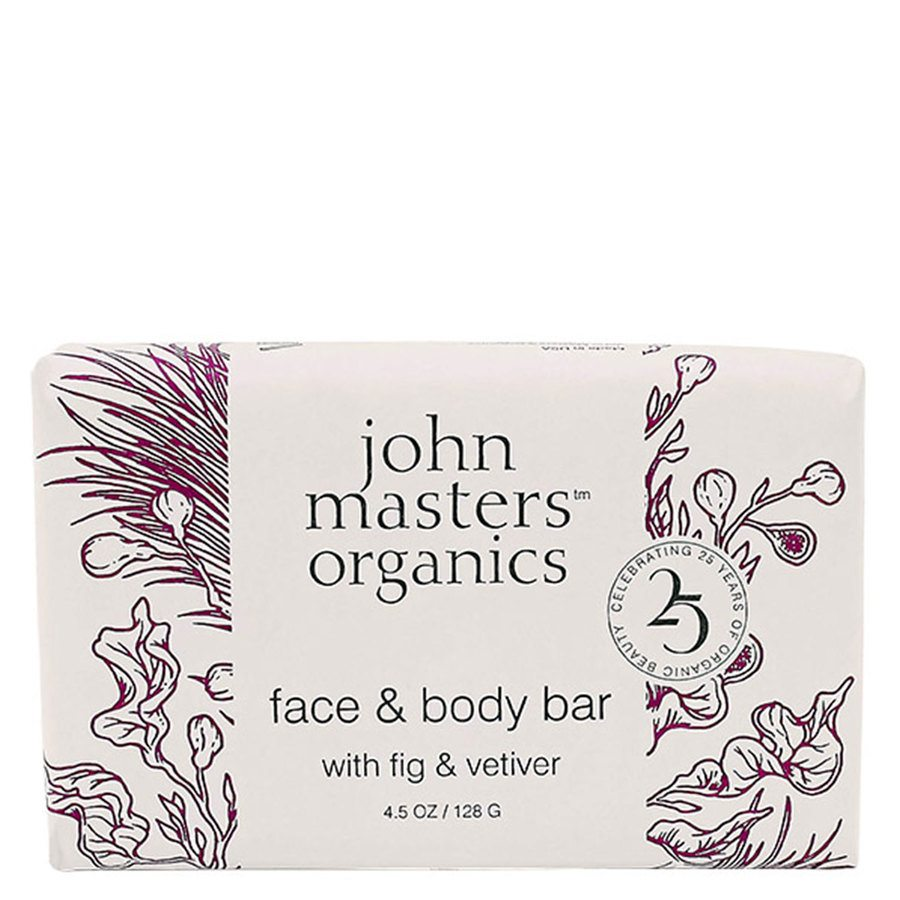 John Masters Organics Face & Body Bar With Fig & Vetiver 128 g