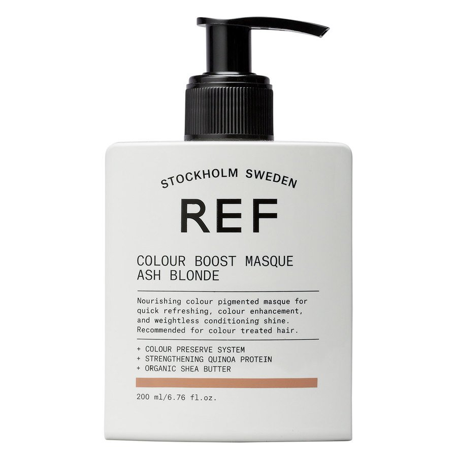 REF Colour Boost Masque 200 ml ─ Ash Blonde