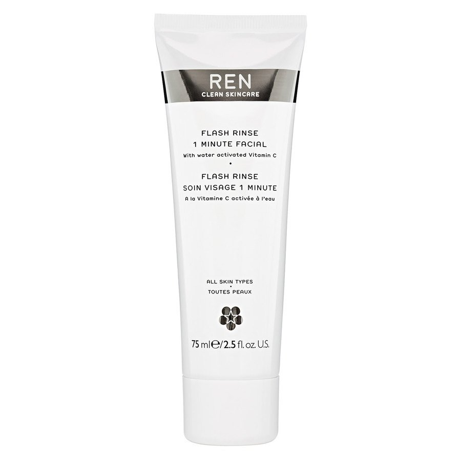 REN Clean Skincare Flash Rinse 1 Minute Facial 75 ml