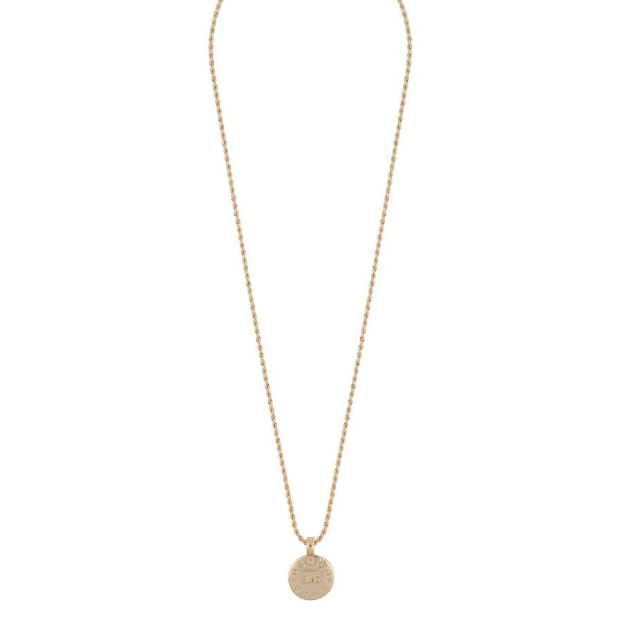 Snö Of Sweden Madeleine Pendant Necklace 42 cm - Plain Gold