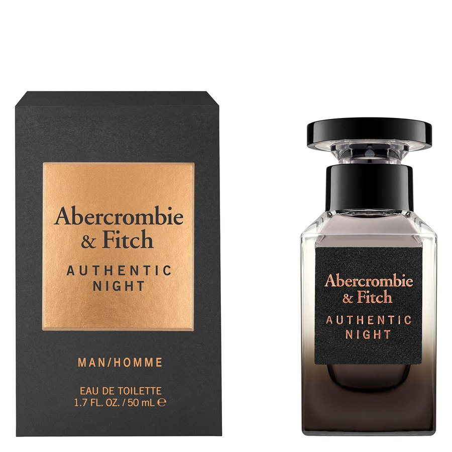 Abercrombie & Fitch Authentic Night Eau De Toilette 50 ml
