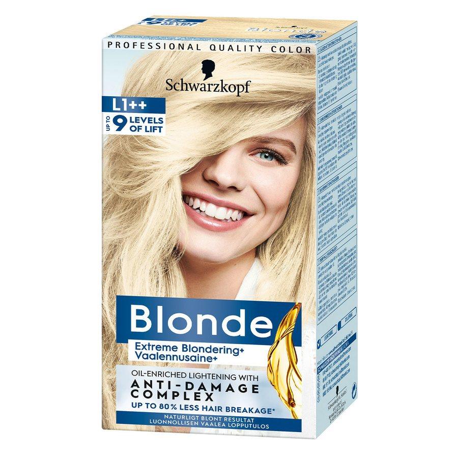 Schwarzkopf Blonde ─ L1++