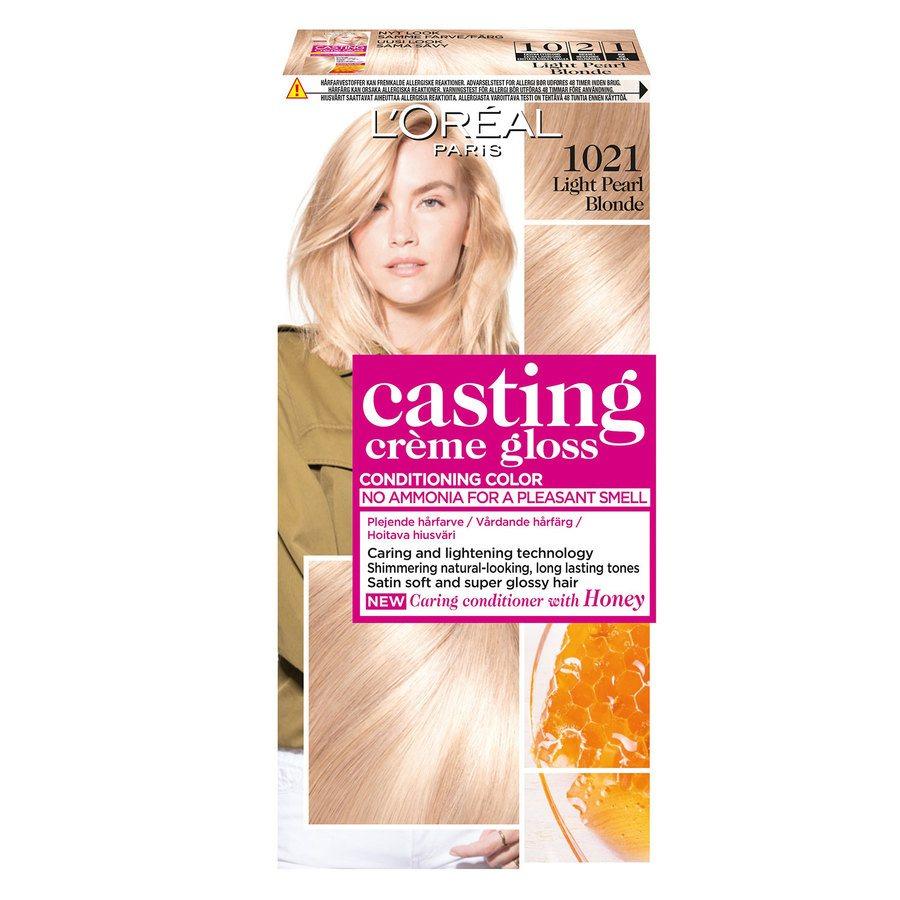 L'Oréal Paris Casting Crème Gloss - 1021 Light Pearl Blonde