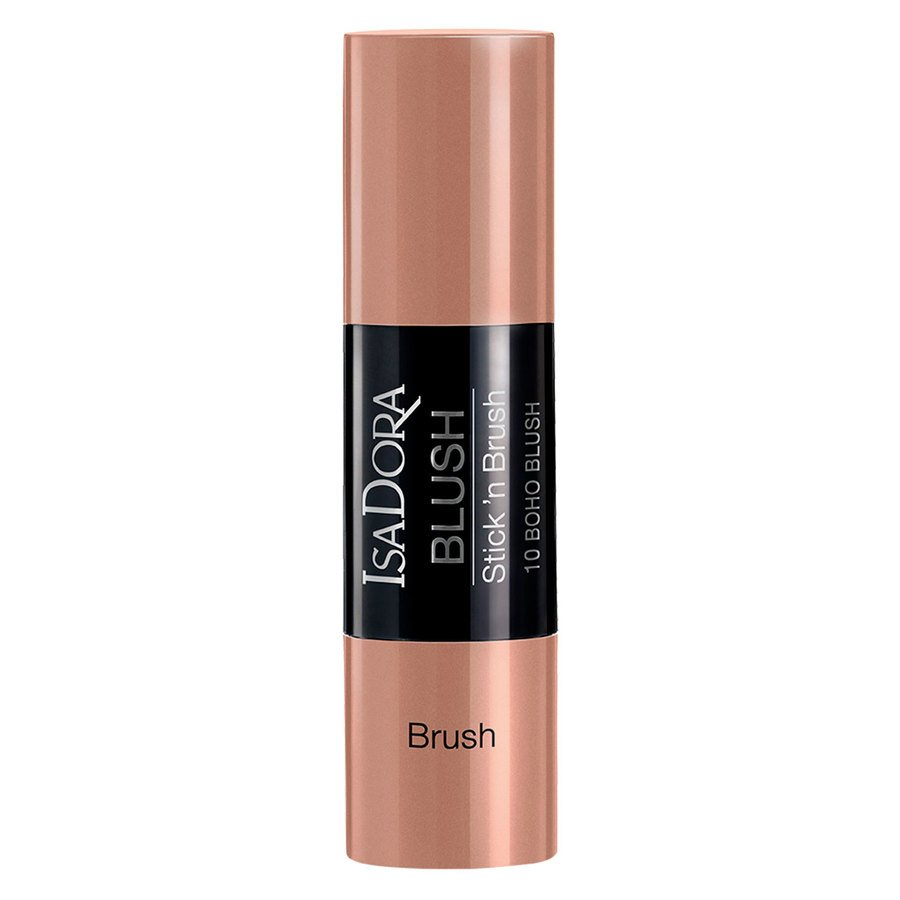 IsaDora Blush Stick'n Brush #10 Boho Blush 8g