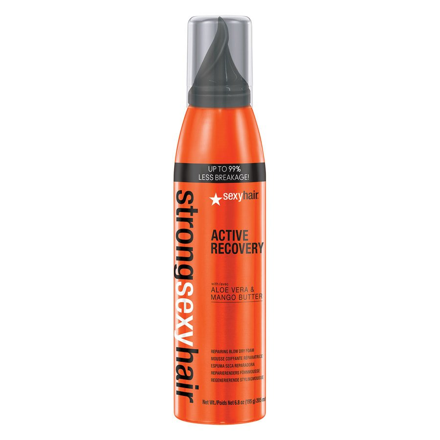 Sexy Hair Strong Active Recovery Repairing Blow Dry Foam 205 ml