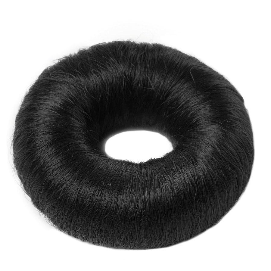 Hair Accessories Synthetic Hair Bun Large 1 kpl ─ Black
