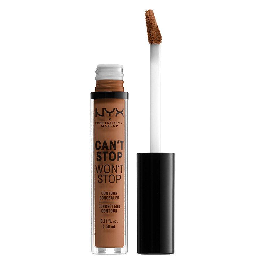 NYX Professional Makeup Can't Stop Won't Stop Contour Concealer Warm Caramel 3,5ml