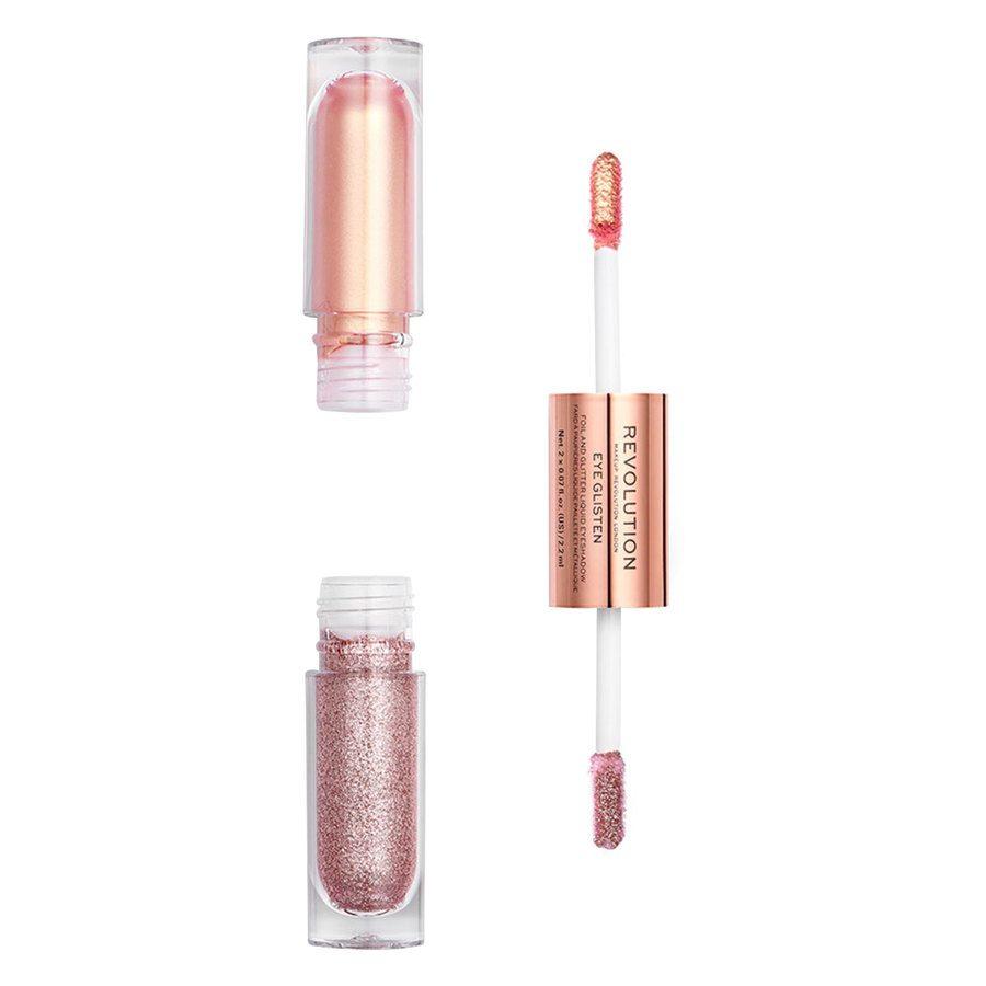 Makeup Revolution Eye Glisten Foil And Glitter Liquid Eyeshadow Yours Truly 2x2,2ml