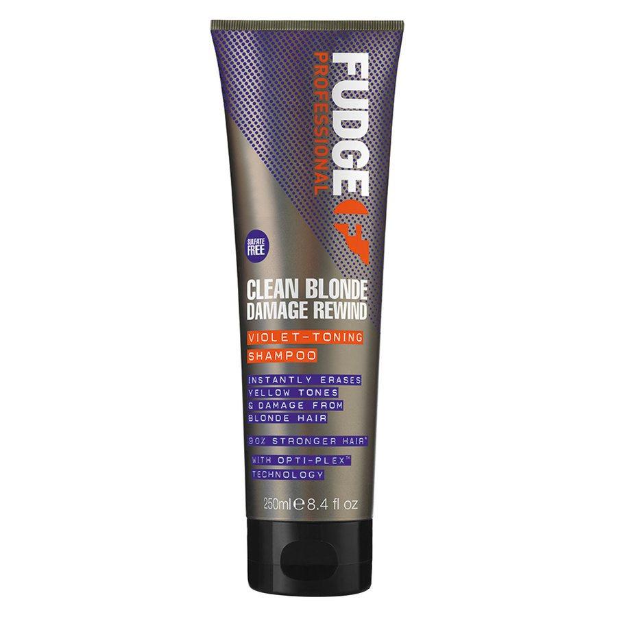 Fudge Clean Blonde Damage Rewind Violet Toning Shampoo 250 ml