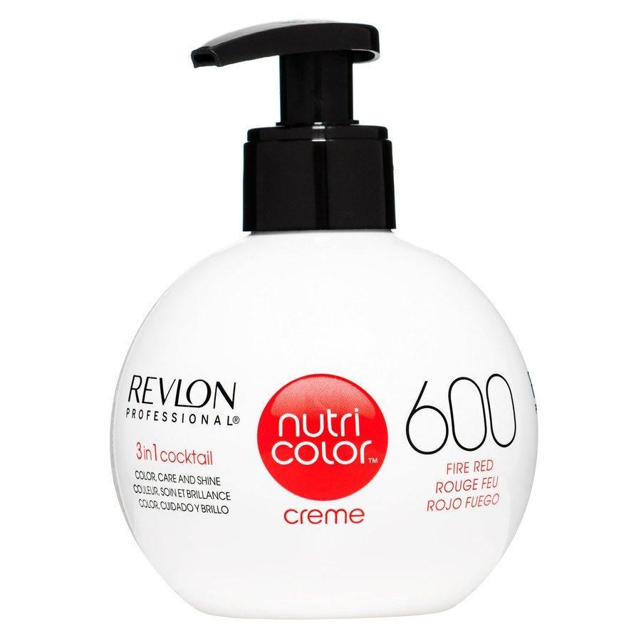 Revlon Professional Nutri Color Creme 270 ml – 600 Fire Red