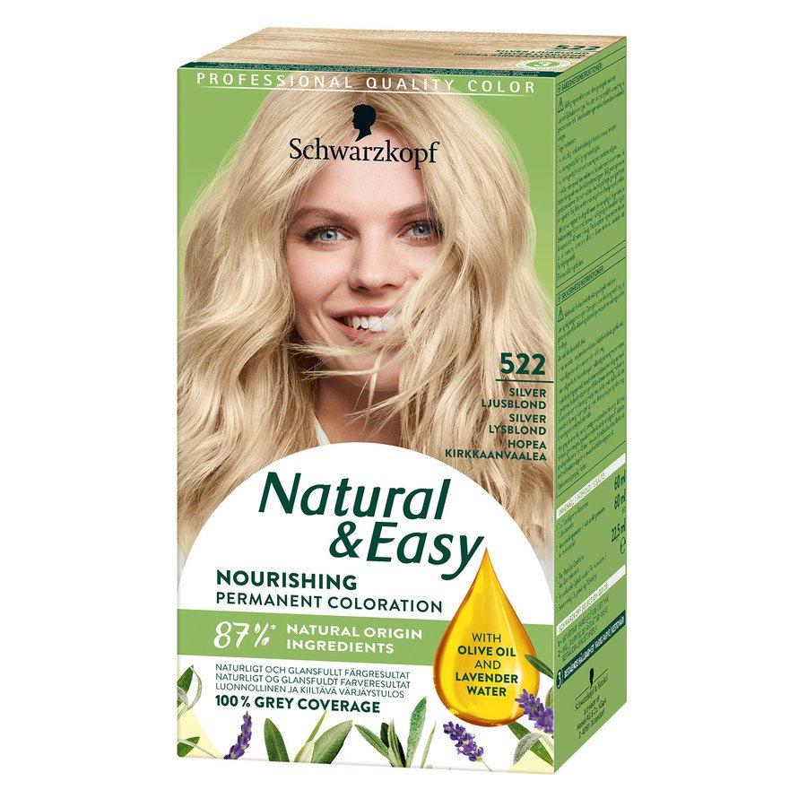 Schwarzkopf Natural & Easy ─ 522 Silver Light Blonde