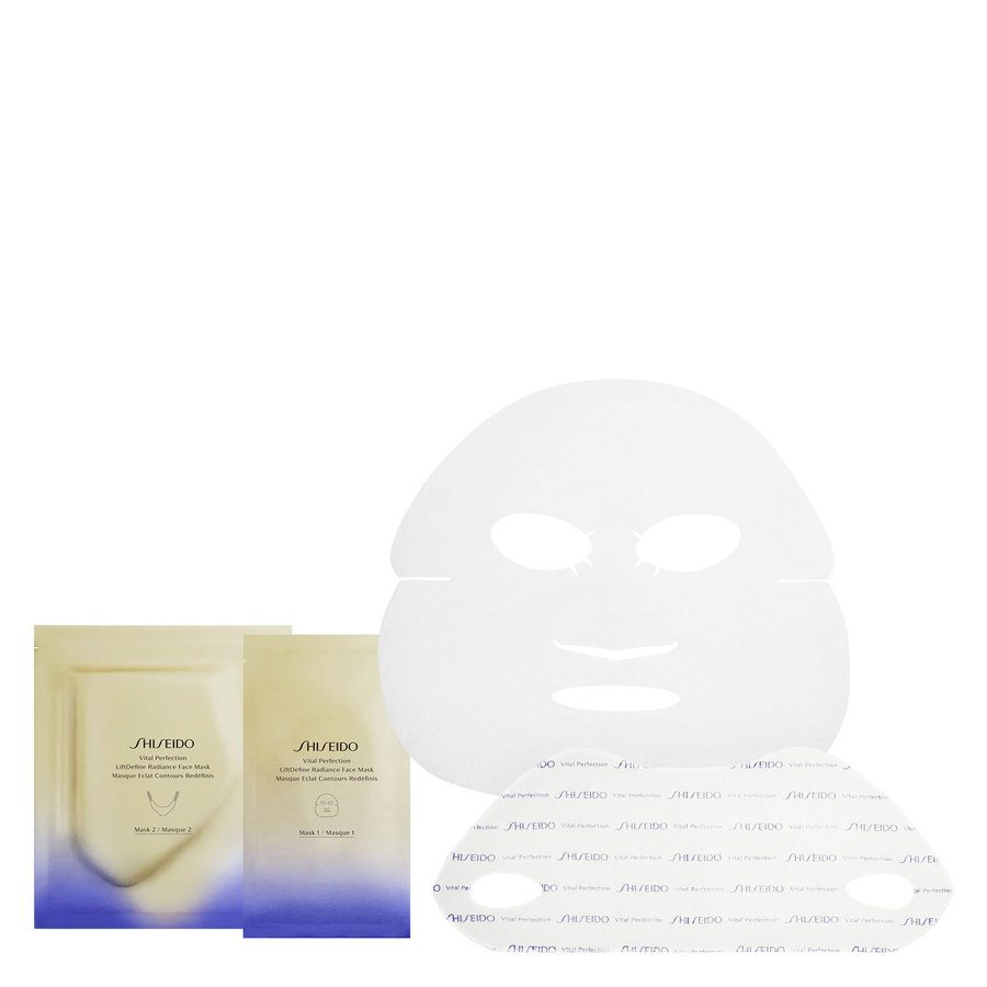 Shiseido Vital Perfection LiftDefine Radiance Face Mask 6 kpl