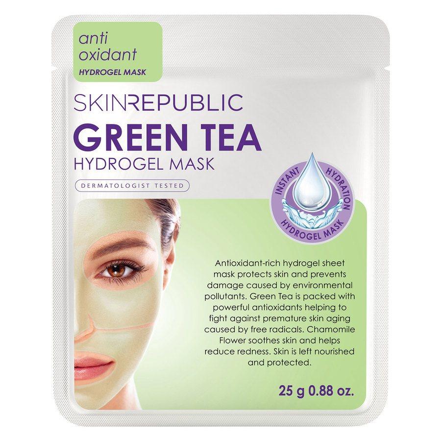 Skin Republic Green Tea Hydrogel Sheet Face Mask 25 g