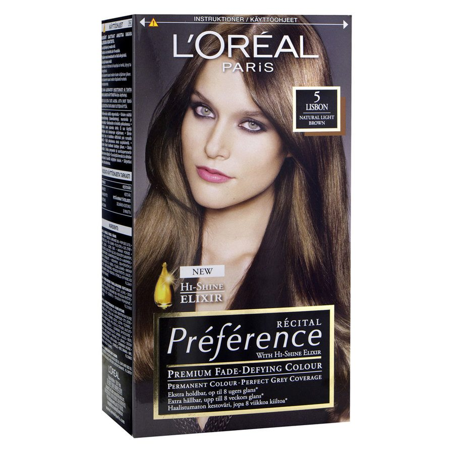 L'Oréal Paris Préférence Core Récital - 5 Light Brown Brugge