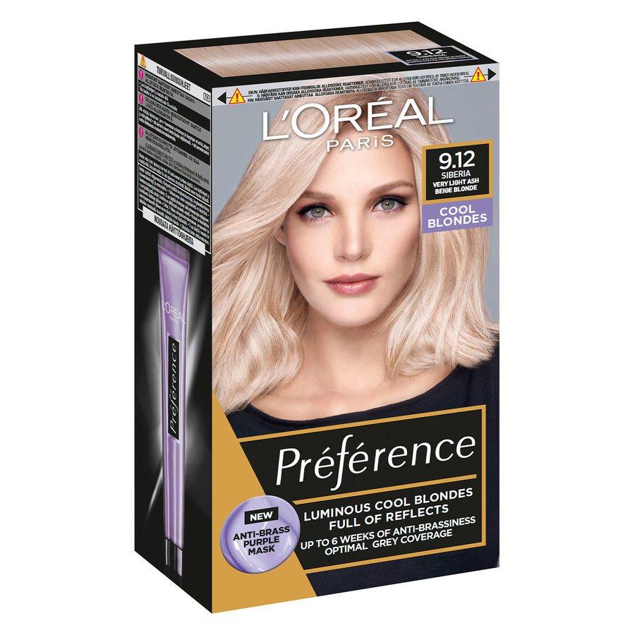 L'Oréal Paris Préférence Core Récital - 9.12