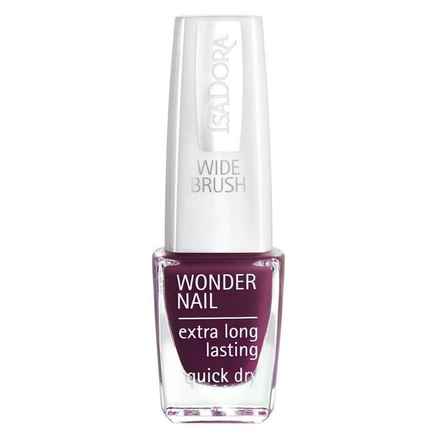 IsaDora Wonder Nail Wide Brush 6 ml ─ #569 Dark Legend