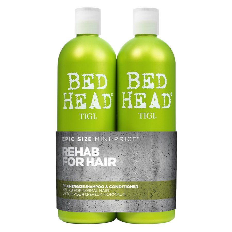 TIGI Bed Head Urban Antidotes Re-Energize Shampoo & Conditioner 2 x 750 ml