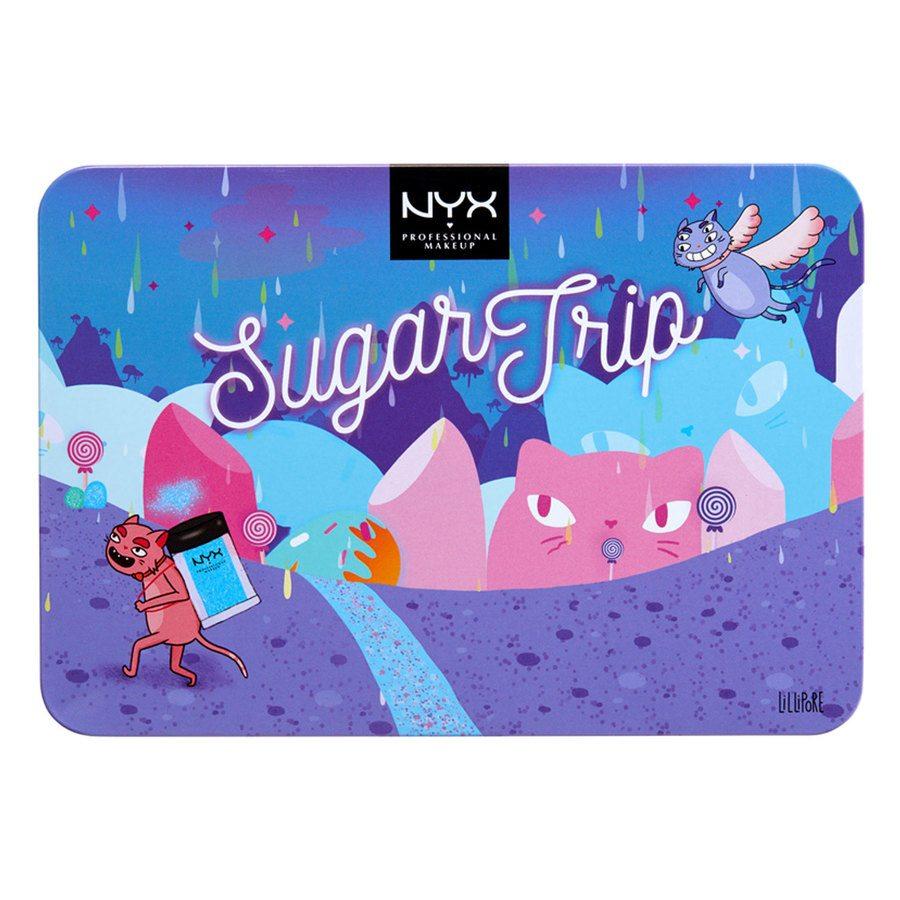 NYX Professional Makeup Sugar Trip Glitter Vault Lahjapakkaus
