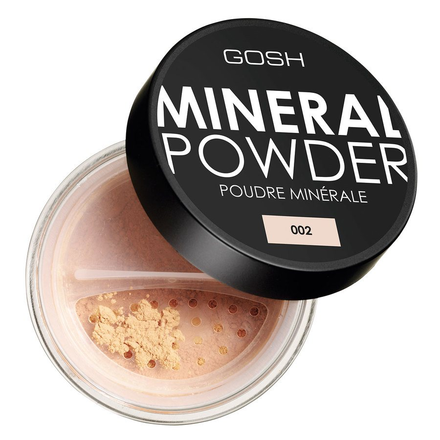 GOSH Mineral Powder 8 g ─ #002 Ivory