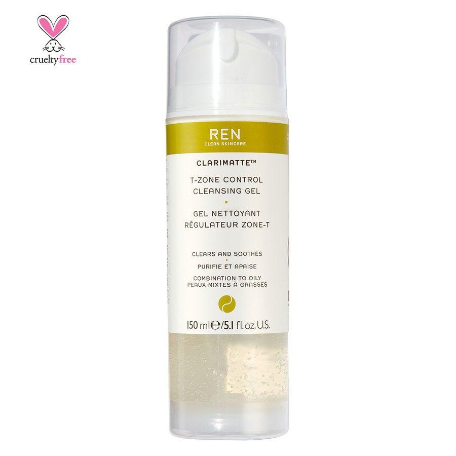REN Clean Skincare Clarimatte T-Zone Control Cleansing Gel 150 ml