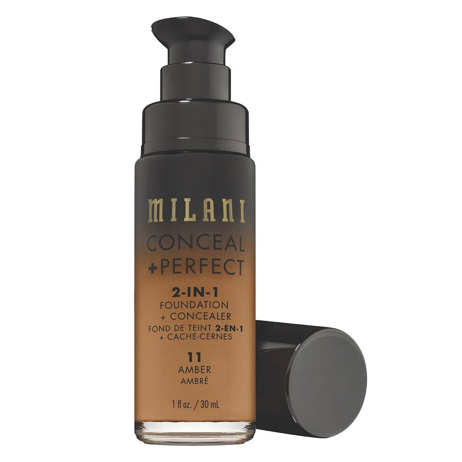 Milani Conceal + Perfect 2-In-1 Foundation + Concealer 30ml – 11 Amber