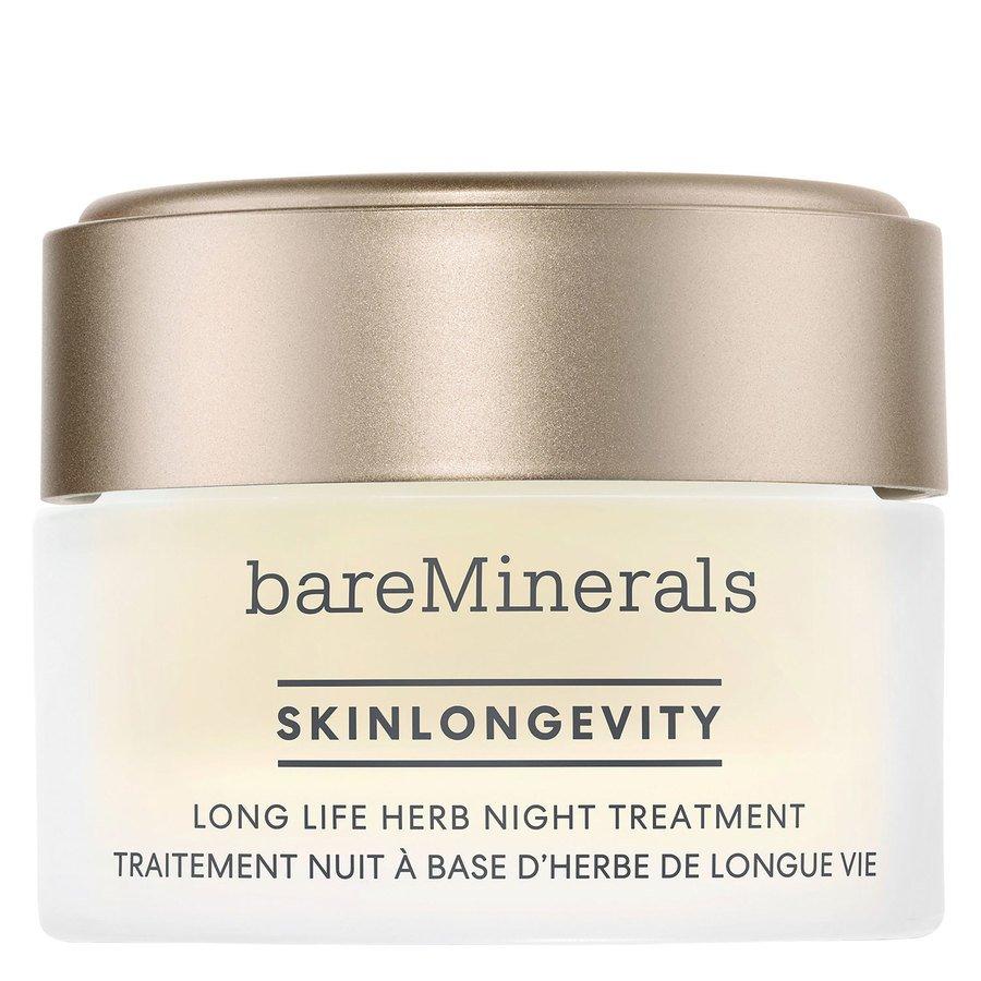 bareMinerals Skinlongevity Long Life Herb Night Treatment 50 g