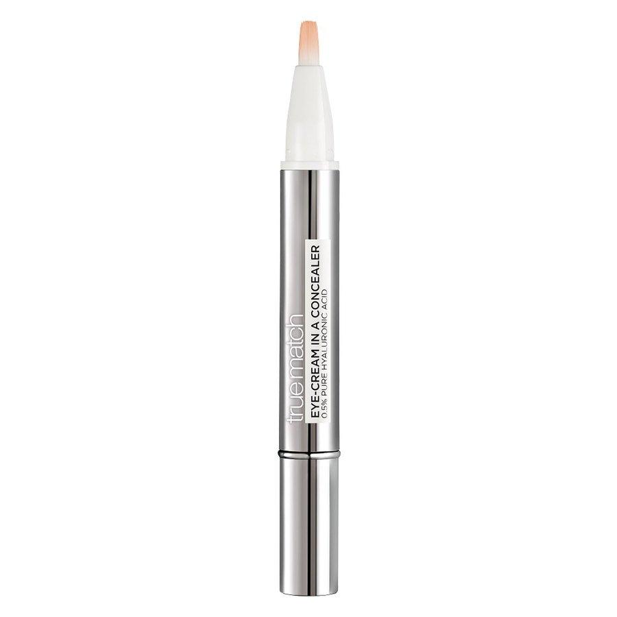 L'Oréal Paris True Match Eye-Cream In A Concealer Natural Beige 2ml