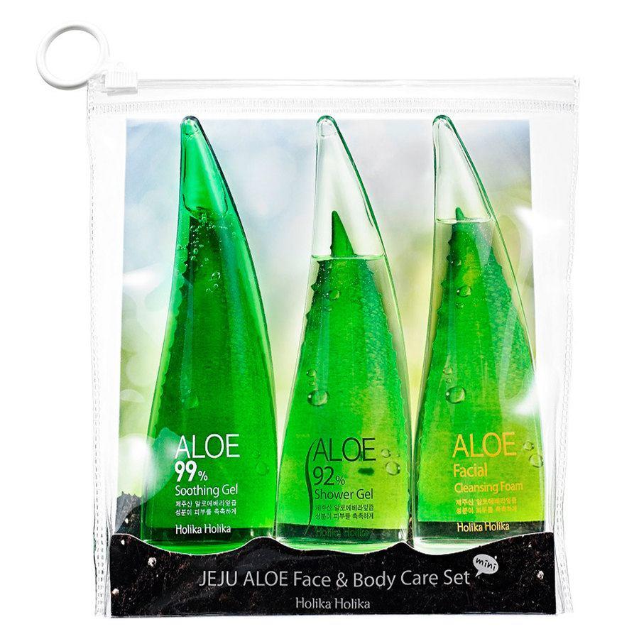 Holika Holika Jeju Aloe Face And Bodycare Set 3 x 55 ml