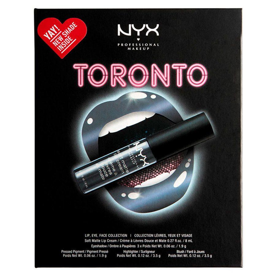NYX Professional Makeup City Set Lip, Eye & Face Collection - Toronto
