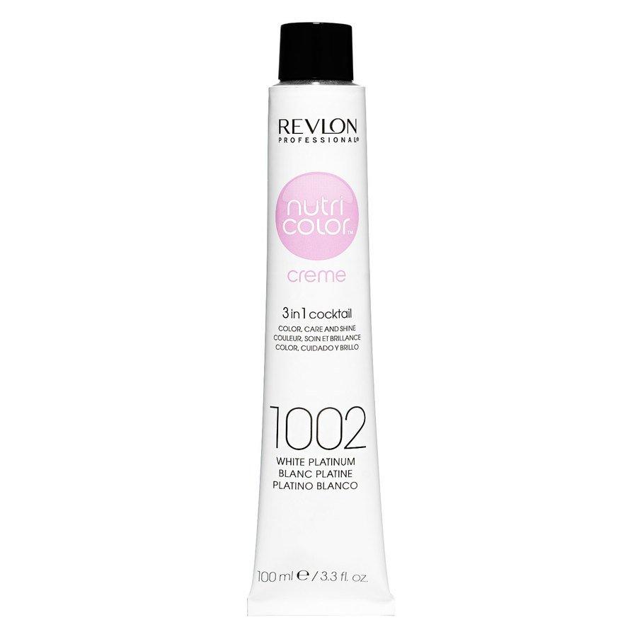 Revlon Professional Nutri Color Creme 100 ml – 1002 White Platinum