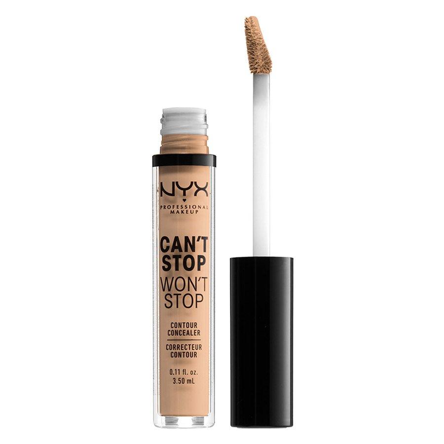NYX Professional Makeup Can't Stop Won't Stop Contour Concealer Natural 3,5ml