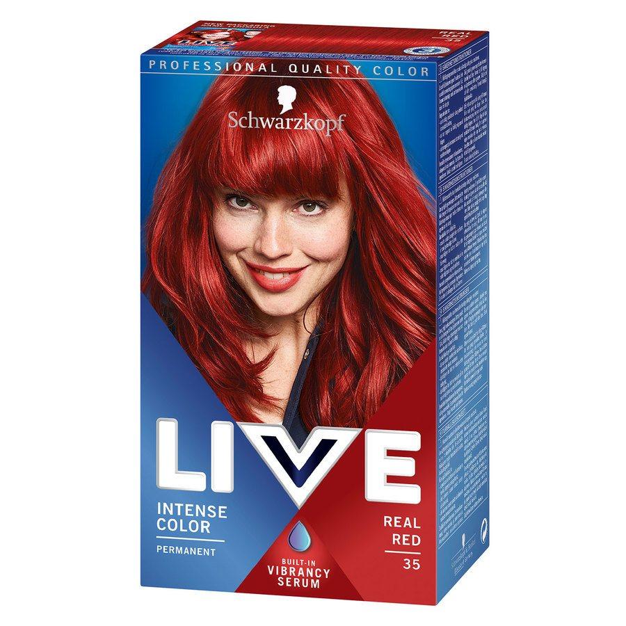 Schwarzkopf Live XXL – 35 Real Red