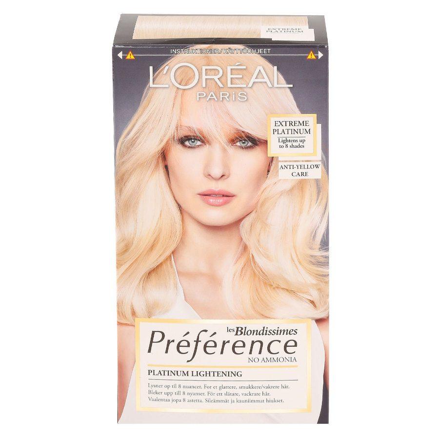 L'Oréal Paris Préférence Core Récital Blondissime - Extreme Platinum