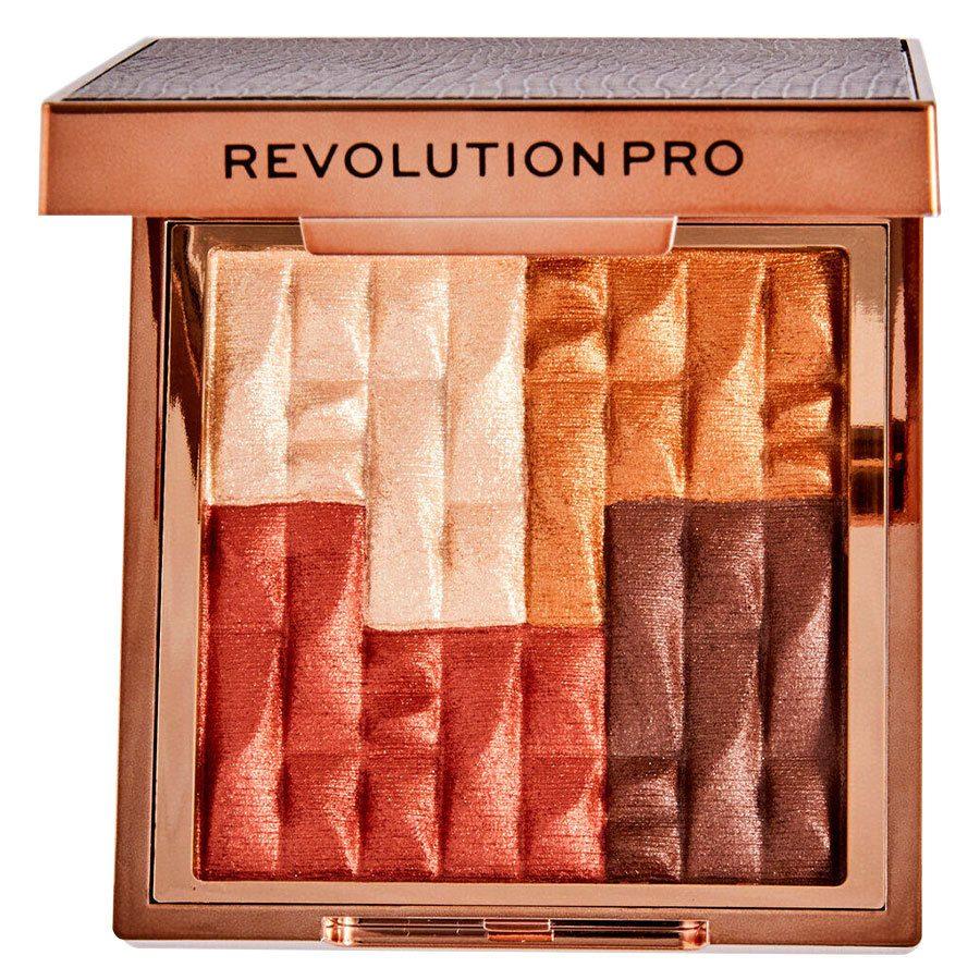 Revolution Beauty Pro Goddess Glow Shimmer Brick Bronzer 8 g – Deserted