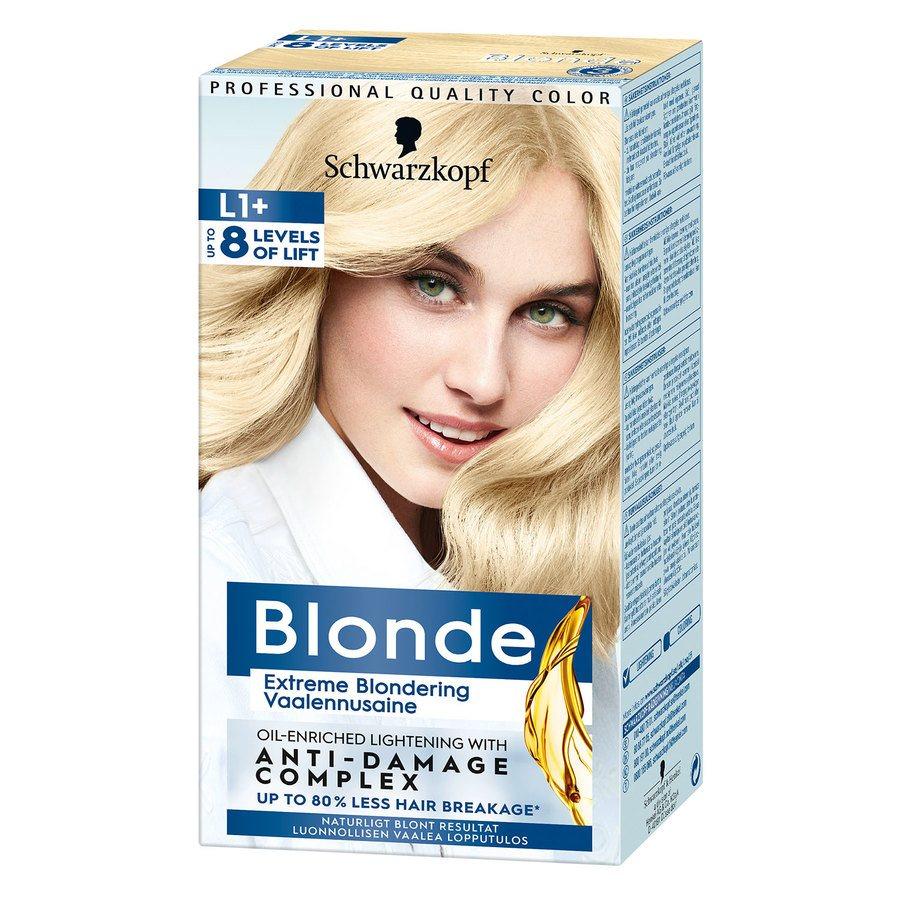 Schwarzkopf Blonde ─ L1+
