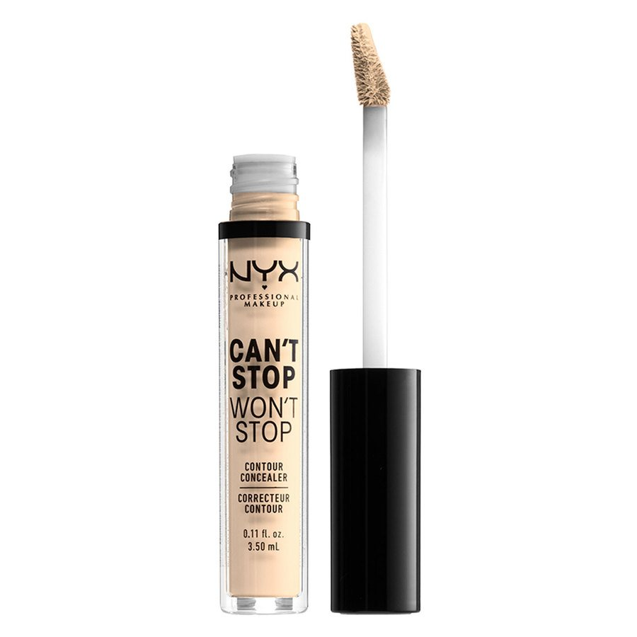 NYX Professional Makeup Can't Stop Won't Stop Contour Concealer Pale 3,5ml