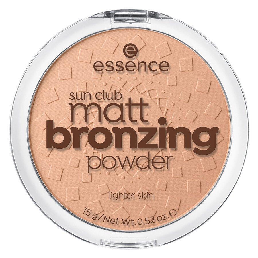 essence Sun Club Matt Bronzing Powder 15 g – 01