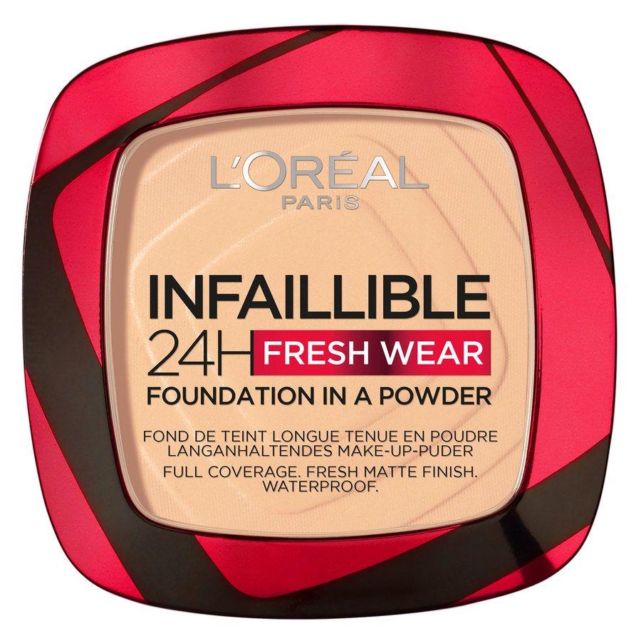 L'Oréal Paris Infaillible 24H Fresh Wear Foundation In A Powder 9 g – Chasmere
