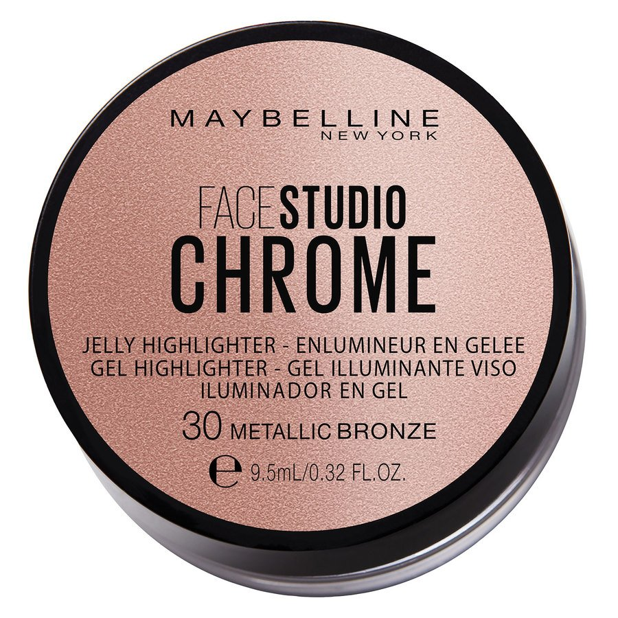 Maybelline Chrome Jelly Highlight 9,5 ml - #30 Metallic Bronze
