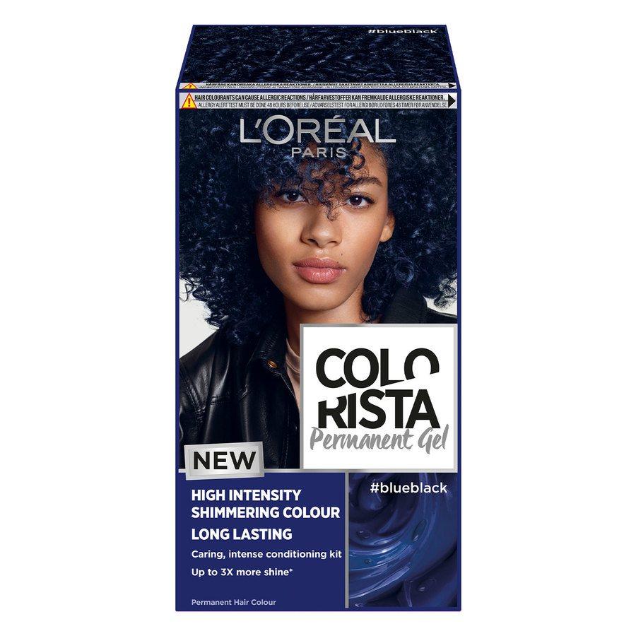 L'Oréal Paris Colorista Permanent Gel ─ Blue Black