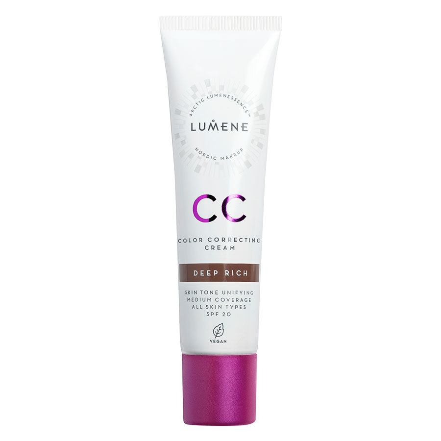 Lumene CC Color Correcting Cream SPF20 30 ml ─ Deep Rich