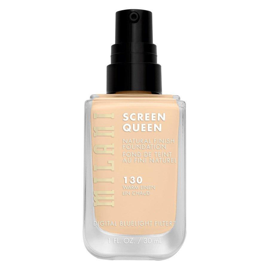 Milani Screen Queen Foundation 30 ml ─ 130W Warm Linen