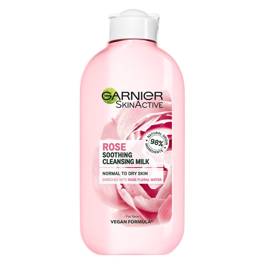 Garnier Naturals Botanical Rose Floral Water Cleansing Milk 200 ml