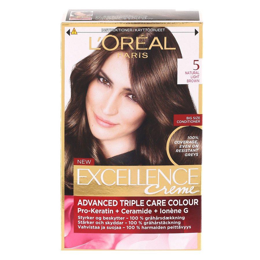 L'Oréal Paris Excellence Creme - 5 Light Brown