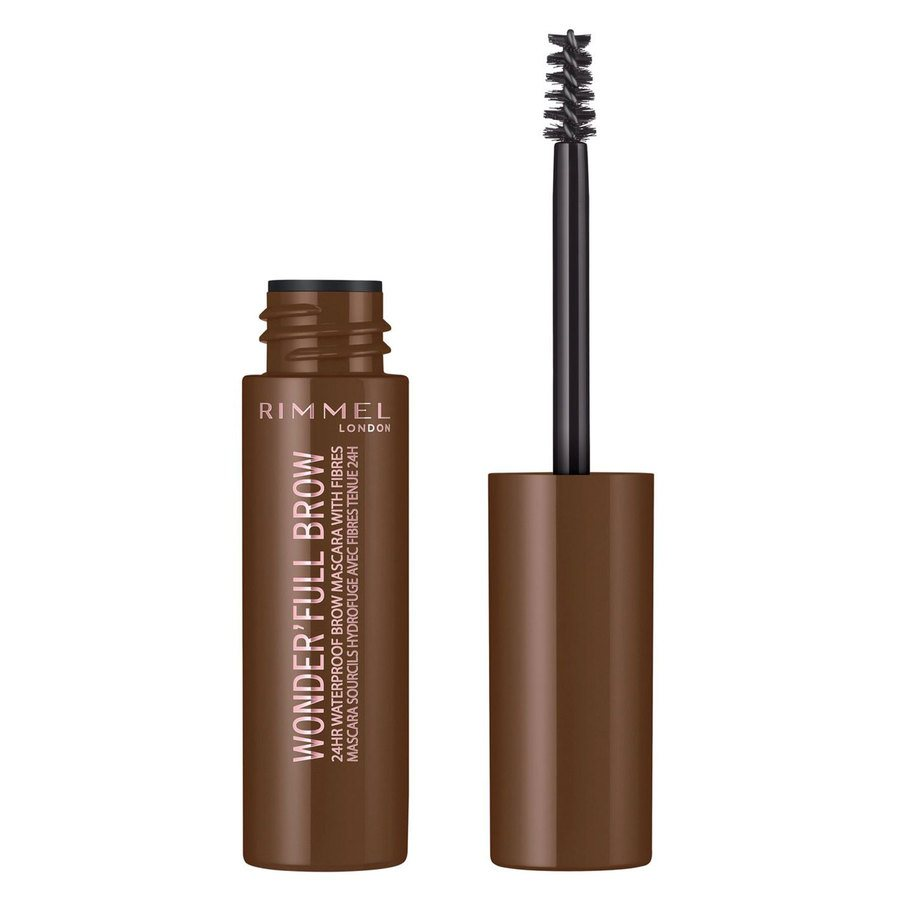 Rimmel London Eye Wonder'Full Brow Mascara 24H 5 ml ─ #002 Medium Brown